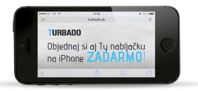 Turbado.sk SMS campaign FB picture