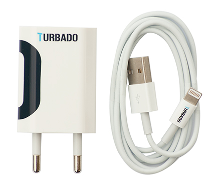 Turbado iPhone charger and cable
